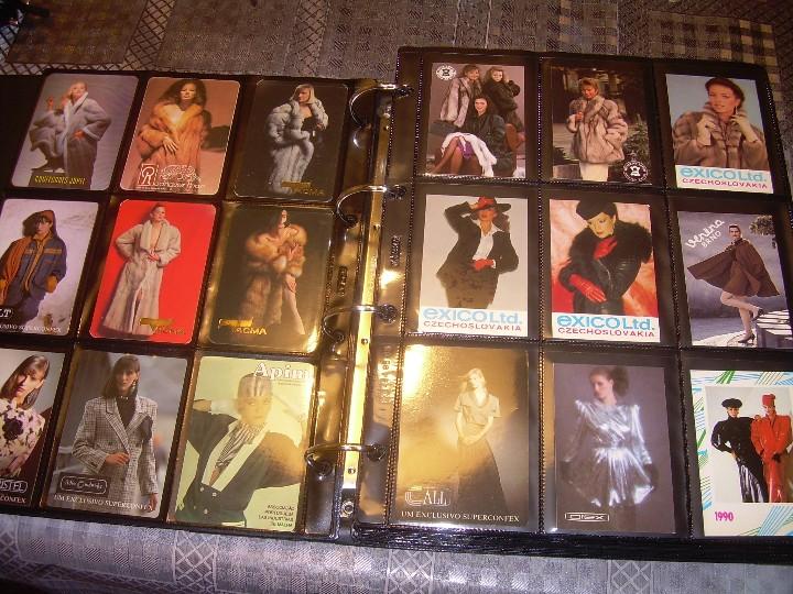 Coleccionismo Calendarios: ALBUM ESPECIAL CON COLECCION DE CALENDARIOS DE CHICAS CON PUBLICIDAD.TOTAL..641 EN TOTAL. - Foto 4 - 112449095