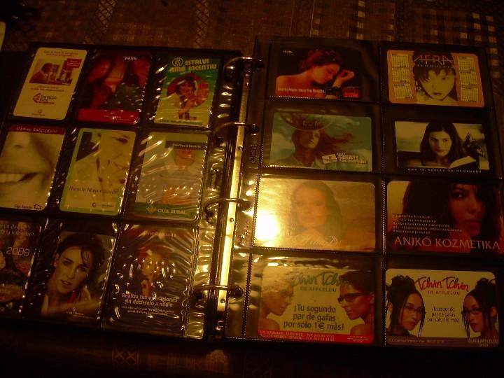 Coleccionismo Calendarios: ALBUM ESPECIAL CON COLECCION DE CALENDARIOS DE CHICAS CON PUBLICIDAD.TOTAL..641 EN TOTAL. - Foto 9 - 112449095