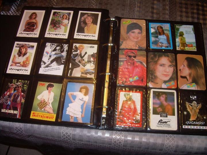 Coleccionismo Calendarios: ALBUM ESPECIAL CON COLECCION DE CALENDARIOS DE CHICAS CON PUBLICIDAD.TOTAL..641 EN TOTAL. - Foto 31 - 112449095