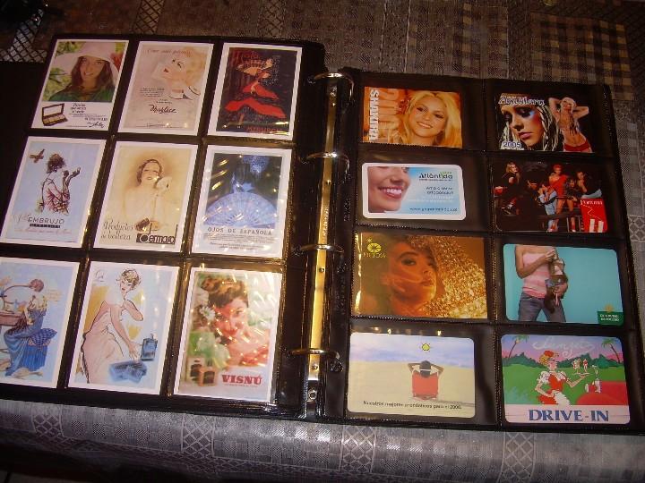 Coleccionismo Calendarios: ALBUM ESPECIAL CON COLECCION DE CALENDARIOS DE CHICAS CON PUBLICIDAD.TOTAL..641 EN TOTAL. - Foto 32 - 112449095