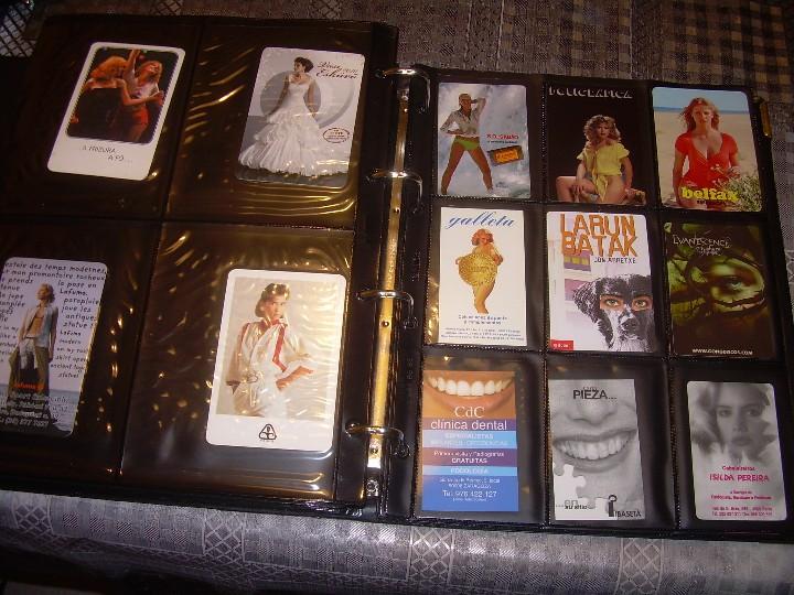 Coleccionismo Calendarios: ALBUM ESPECIAL CON COLECCION DE CALENDARIOS DE CHICAS CON PUBLICIDAD.TOTAL..641 EN TOTAL. - Foto 35 - 112449095