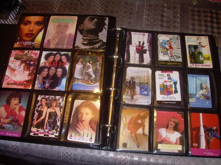 Coleccionismo Calendarios: ALBUM ESPECIAL CON COLECCION DE CALENDARIOS DE CHICAS CON PUBLICIDAD.TOTAL..641 EN TOTAL. - Foto 36 - 112449095