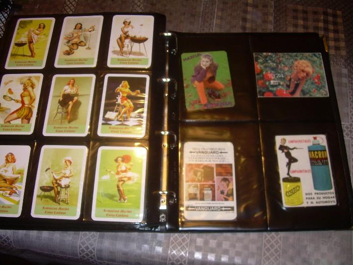 Coleccionismo Calendarios: ALBUM ESPECIAL CON COLECCION DE CALENDARIOS DE CHICAS CON PUBLICIDAD.TOTAL..641 EN TOTAL. - Foto 38 - 112449095