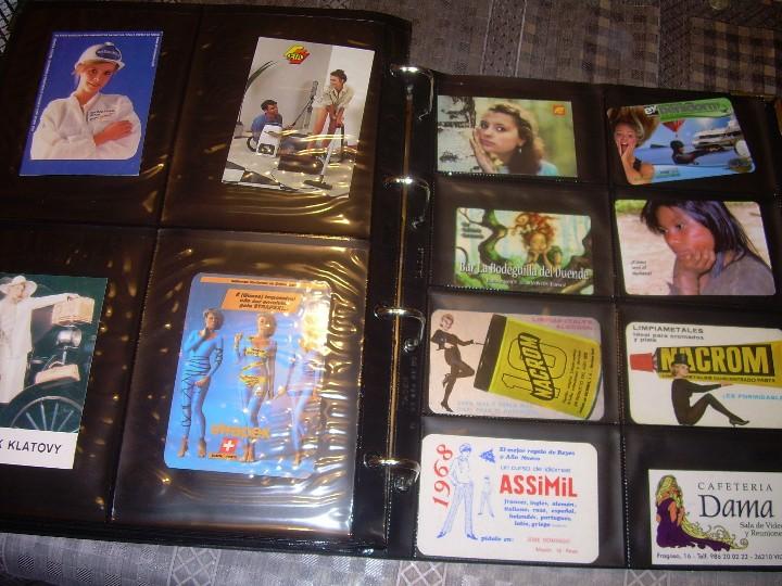 Coleccionismo Calendarios: ALBUM ESPECIAL CON COLECCION DE CALENDARIOS DE CHICAS CON PUBLICIDAD.TOTAL..641 EN TOTAL. - Foto 39 - 112449095
