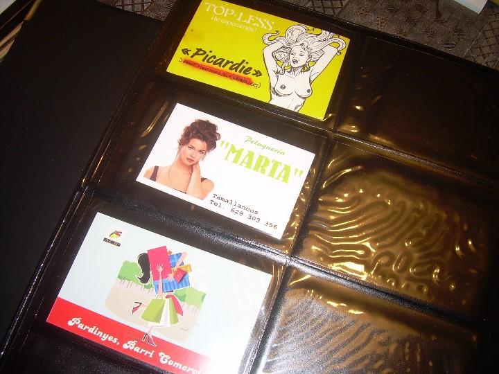 Coleccionismo Calendarios: ALBUM ESPECIAL CON COLECCION DE CALENDARIOS DE CHICAS CON PUBLICIDAD.TOTAL..641 EN TOTAL. - Foto 40 - 112449095