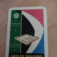 Coleccionismo Calendarios: CALENDARIO FOURNIER CARLOS NAVARRO 1965. Lote 112562959
