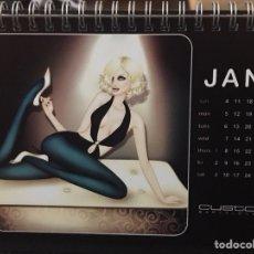 Coleccionismo Calendarios: CALENDARIO CUSTO BARCELONA 2004 - JORDI LABANDA. Lote 112575654