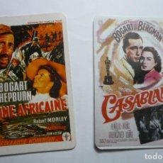 Coleccionismo Calendarios: LOTE CALENDARIOS CINE -PELICULAS ACTOR H.BOGART. Lote 112776059