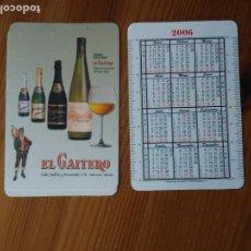 Coleccionismo Calendarios: CALENDARIO SIDRA EL GAITERO AÑO 2006 - BEBIDAS. Lote 112804407