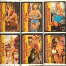 Coleccionismo Calendarios: COLECCIÓN 12 CALENDARIOS, RUSOS, HORÓSCOPO-ZODIACO-CHICAS-ERÓTICOS, 2004. Lote 112810019