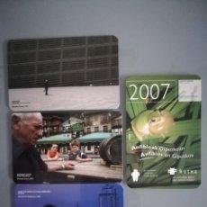 Coleccionismo Calendarios: 4 CALENDARIOS DE LA KUTXA (CAJA SAN SEBASTIAN) DE 2007. Lote 113023495