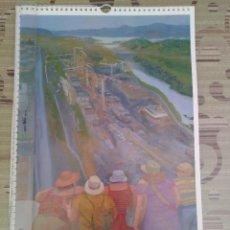 Coleccionismo Calendarios: CALENDARIO PARED MAXAM 2017. ANTIGUA EXPLOSIVOS RÍO TINTO. MUY BUEN ESTADO. NO USADO. Lote 113161555