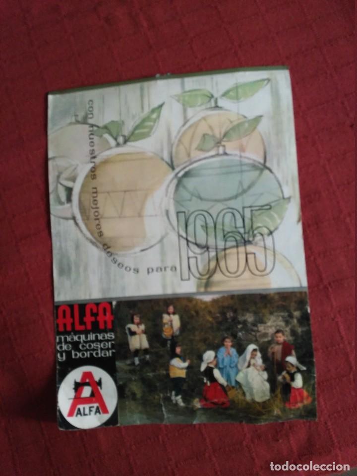 CALENDARIO PARED ALFA COMPLETO 1965 FOTOS DE GUIPUZCOA (Coleccionismo - Calendarios)
