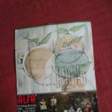 Coleccionismo Calendarios: CALENDARIO PARED ALFA COMPLETO 1965 FOTOS DE GUIPUZCOA. Lote 113318607