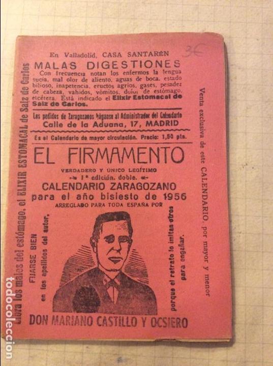 Calendario Zaragozano 2020.Calendario Zaragozano Para 1956