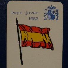 Coleccionismo Calendarios: CALENDARIO BOLSILLO MILITAR 1983 (ARMADA ESPAÑOLA) MUY BIEN (FOTO REV.). Lote 113530019