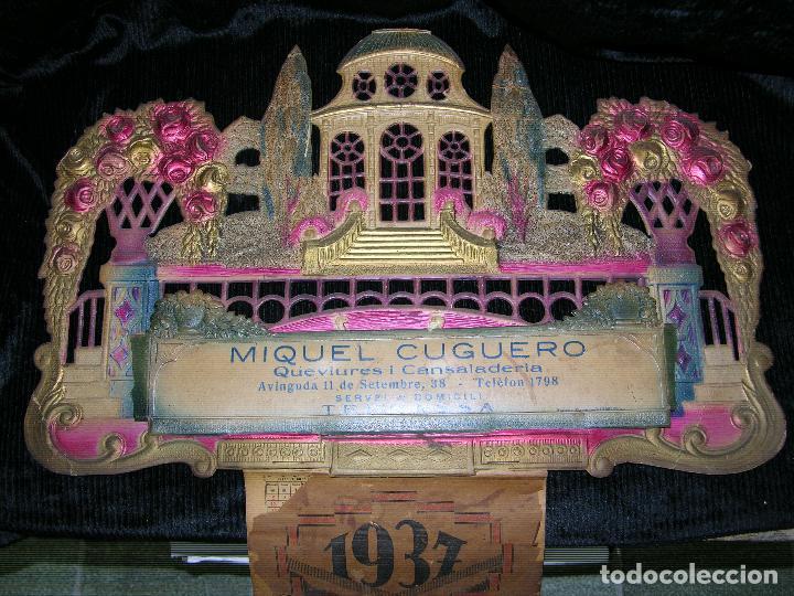Calendario F1.F1 Calendario Ano 1937 Muiquel Cuguero Queviures Y Cansaladaries Terassa