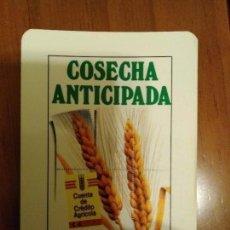 Coleccionismo Calendarios: CALENDARIO CAJASUR 1989. BUEN ESTADO. UNA ESQUINA LEVEMENTE DOBLADA. CASI INAPRECIABLE POR DELANTE.. Lote 113608075