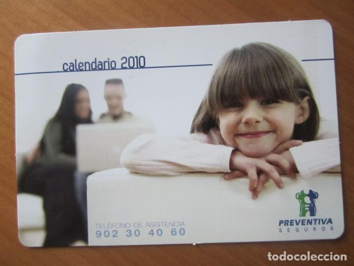 CALENDARIO SEGUROS PREVENTIVA 2010 (Coleccionismo - Calendarios)