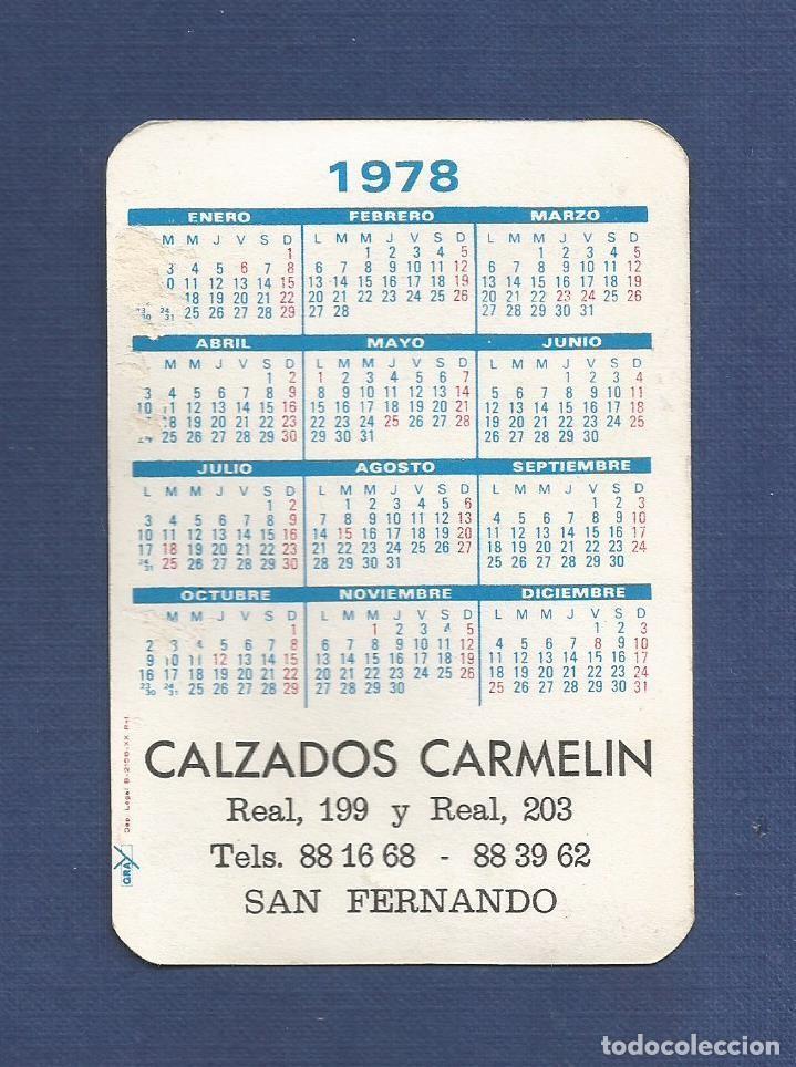 Real Madrid Calendario.Calendario De Bolsillo Ano 1978 Real Madrid