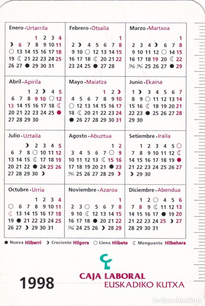 1998 Calendario.2884 Calendario 1998 Caja Laboral Popular