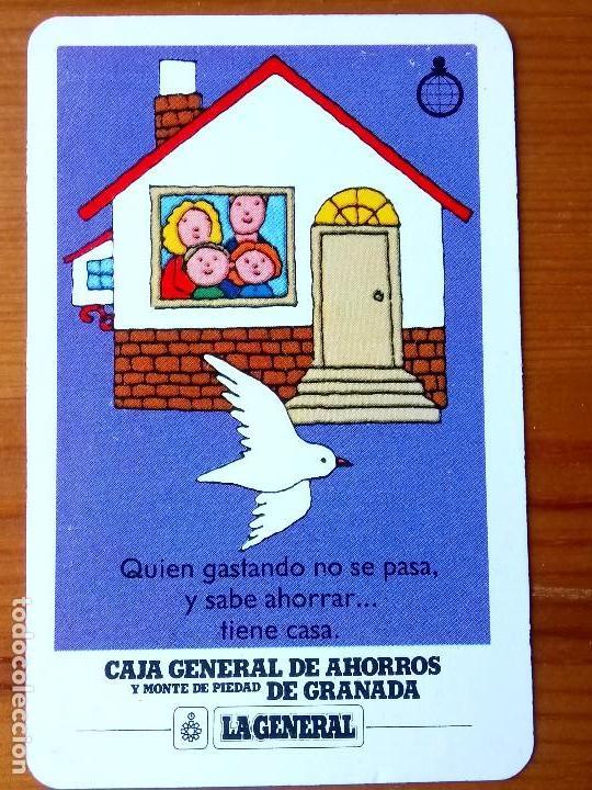 CALENDARIO FOURNIER DE 1988 DE LA CAJA GENERAL DE AHORROS Y MONTE DE PIEDAD DE GRANADA (Coleccionismo - Calendarios)