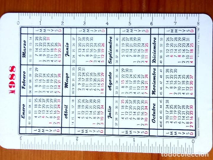 Coleccionismo Calendarios: CALENDARIO FOURNIER DE 1988 DE LA CAJA GENERAL DE AHORROS Y MONTE DE PIEDAD DE GRANADA - Foto 2 - 114422687