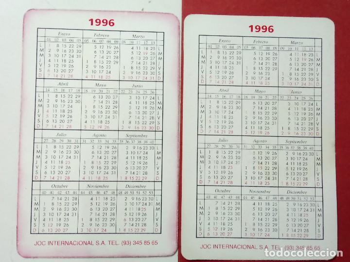 Coleccionismo Calendarios: 2 CALENDARIOS, SEÑOR DE LOS ANILLOS Y ORÁCULO, AÑO 1996 - Foto 2 - 114487387