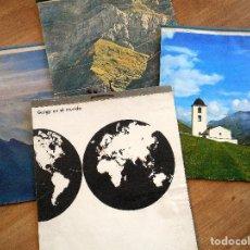 Coleccionismo Calendarios: LOTE 4 ALMANAQUE COMPLETOS GEYGY AÑOS 1958, 1960, 1961 Y 1962 - MUY BONITOS. Lote 114709003