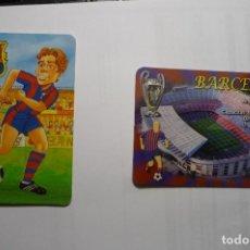 Coleccionismo Calendarios: LOTE CALENDARIOS FUTBOL FC BARCELONA 1999-2013. Lote 114774059