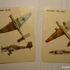 Coleccionismo Calendarios: LOTE CALENDARIOS EXTRANJEROS AVIONES 1986. Lote 114834435