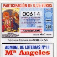 Coleccionismo Calendarios: CALENDARIO ADMON. LOTERIAS AÑO 2007 LOGROÑO. Lote 114942707