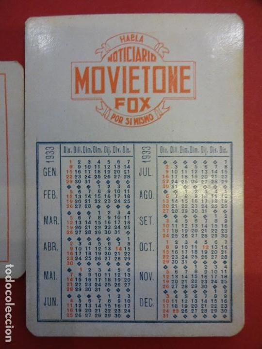 Calendario Fox.Calendario De Bolsillo Movietone Fox Ano 1933 Sold