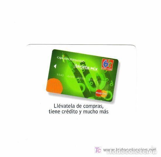 -76853 CALENDARIO CAJA SAN FERNANDO, TARJETA MIX, AÑO 2007, PUBLICIDAD CAJA DE AHORROS (Coleccionismo - Calendarios)