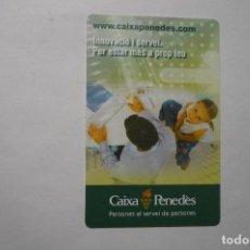 Coleccionismo Calendarios: CALENDARIO CAJAS Y BANCOS CAIXA PENEDES -CATALAN 2009. Lote 115520207