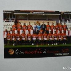 Coleccionismo Calendarios: CALENDARIO FUTBOL NASTIC DE TAREAGONA 2009-CATALAN. Lote 115520439