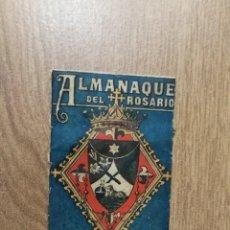 Coleccionismo Calendarios: PORTADA ALMANAQUE DEL ROSARIO AÑO 1943. 10 X 6,5 CM.. Lote 115580195
