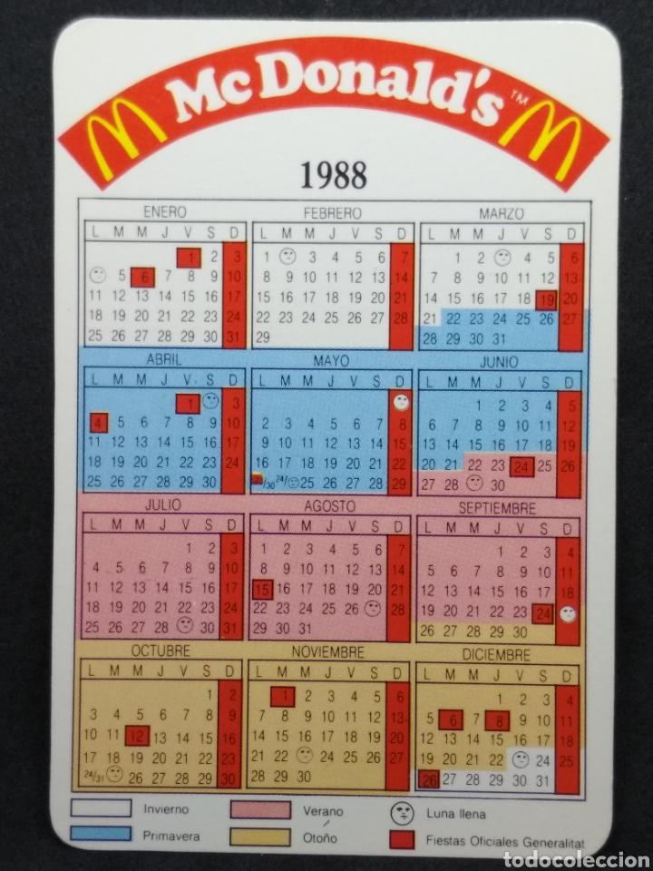 Calendario Lunare 1988.Calendario De Mcdonald S De 1988 Sold Through Direct Sale