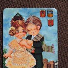 Coleccionismo Calendarios: CALENDARIO BOLSILLO - DIBUJO INFANTIL - COMUNIDAD VALENCIANA - SERIE 140 - AÑO 1973. Lote 115695375