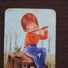 Coleccionismo Calendarios: CALENDARIO BOLSILLO - DIBUJO INFANTIL - SERIE IG Nº 419-B - AÑO 1981. Lote 115696155