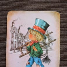 Coleccionismo Calendarios: CALENDARIO BOLSILLO - DIBUJO INFANTIL - SERIE P Nº 13 - AÑO 1981. Lote 115696279
