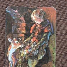 Coleccionismo Calendarios: CALENDARIO BOLSILLO - DIBUJO INFANTIL - SERIE EU/2326 - AÑO 1981. Lote 115696335