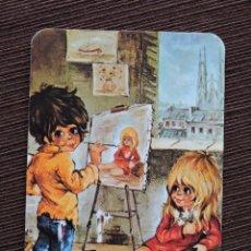Coleccionismo Calendarios: CALENDARIO BOLSILLO - DIBUJO INFANTIL - SERIE EU/2327 - AÑO 1981. Lote 115696359