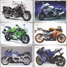 Coleccionismo Calendarios: 10 CALENDARIOS NUMERADOS BULGARIA 2011 - MOTOS. Lote 116104759