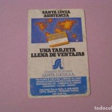 Coleccionismo Calendarios: CALENDARIO SEGUROS SANTA LUCIA. 1987.. Lote 116280263