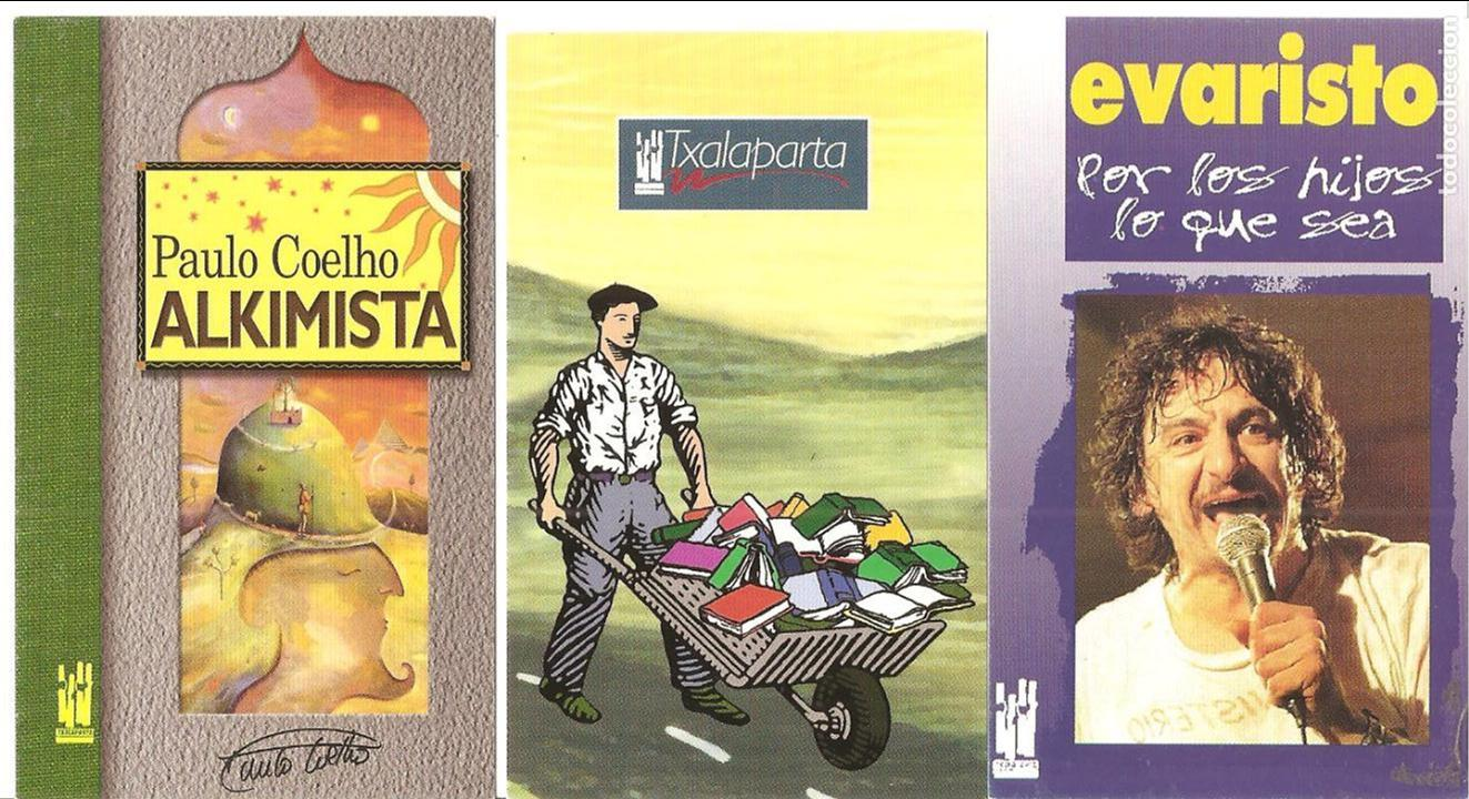 3 CALENDARIOS, EDITORIAL TXALAPARTA 2002 , DISTINTOS (Coleccionismo - Calendarios)