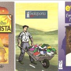 Coleccionismo Calendarios: 3 CALENDARIOS, EDITORIAL TXALAPARTA 2002 , DISTINTOS. Lote 116372899