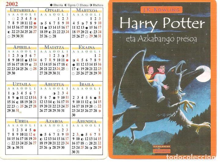 Calendario Harry Potter.Calendario Harry Potter Eta Azkabango Presoa El Prisionero De Azkaban Ed Elkar 2002
