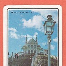 Coleccionismo Calendarios: CALENDARIO BRASIL 1981 - IGREJA DA PENHA. RIO DE JANEIRO. IGLESIA. Lote 116694139