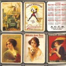Coleccionismo Calendarios: SERIE 9 CALENDARIOS, SIDRA ASTURIANA, TODOS DIFERENTES , 2006. Lote 116777195
